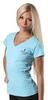 Футболка женская Berserk Classic woman turquoise - фото 3