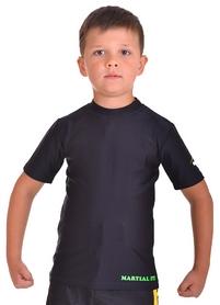 Фото 1 к товару Футболка компрессионная детская Berserk for Kids Martial Fit black