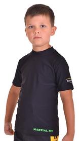 Фото 2 к товару Футболка компрессионная детская Berserk for Kids Martial Fit black