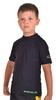 Футболка компрессионная детская Berserk for Kids Martial Fit black - фото 2