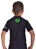 Футболка компрессионная детская Berserk for Kids Martial Fit black - фото 3