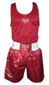 Форма боксерская Everlast МА-6011-R красная