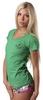 Футболка женская Berserk Classic woman green - фото 3