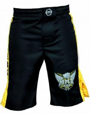 Шорты для MMA детские Berserk MMA Kid yellow