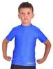 Футболка компрессионная детская Berserk for Kids Martial Fit blue - фото 1