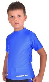 Фото 2 к товару Футболка компрессионная детская Berserk for Kids Martial Fit blue