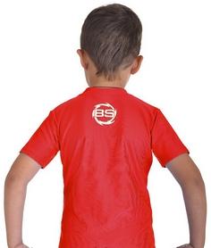 Фото 4 к товару Футболка компрессионная детская Berserk for Kids Martial Fit red