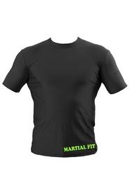 Фото 2 к товару Футболка компрессионная Berserk Martial Fit черная