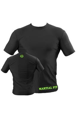 Футболка компрессионная Berserk Martial Fit черная