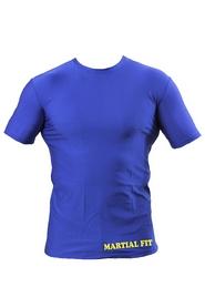 Фото 2 к товару Футболка компрессионная Berserk Martial Fit синяя