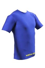 Фото 4 к товару Футболка компрессионная Berserk Martial Fit синяя
