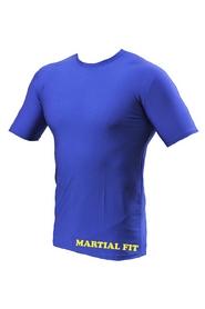 Фото 5 к товару Футболка компрессионная Berserk Martial Fit синяя