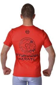 Фото 2 к товару Футболка for Kyokushin Berserk красная