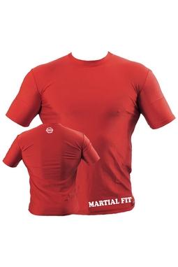 Футболка компрессионная Berserk Martial Fit красная