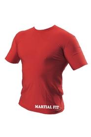 Фото 5 к товару Футболка компрессионная Berserk Martial Fit красная