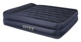 Фото 2 к товару Кровать надувная двуспальная Intex 66702 (203х157х47 см)