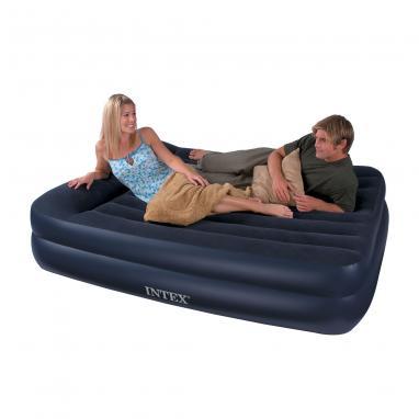 Кровать надувная двуспальная Intex 66702 (203х157х47 см) - уцененная*