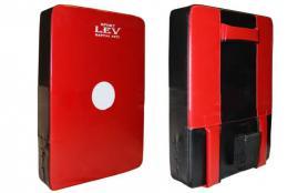 Макивара прямая Lev LV-4283 красная