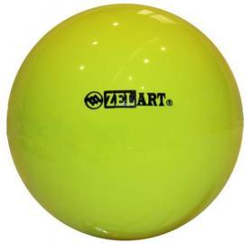 Фото 1 к товару Мяч гимнастический Pro Supra 18 см 400 г желтый