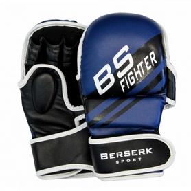 Перчатки для смешанных единоборств 7 oz Fighter blue