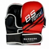 Перчатки для смешанных единоборств 7 oz Fighter red - фото 1