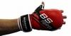 Перчатки для смешанных единоборств 7 oz Fighter red - фото 2