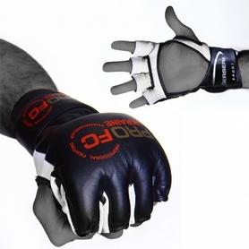 Фото 2 к товару Перчатки для смешанных единоборств 4 oz ProFC black