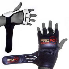 Фото 3 к товару Перчатки для смешанных единоборств 4 oz ProFC black