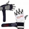 Перчатки для смешанных единоборств 4 oz ProFC white - фото 2