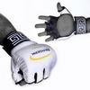 Перчатки для смешанных единоборств 4 oz Legacy white - фото 2