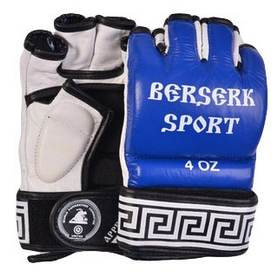 Фото 1 к товару Перчатки Berserk Sport Traditional for Pankration Approwed WPC 4 oz blue