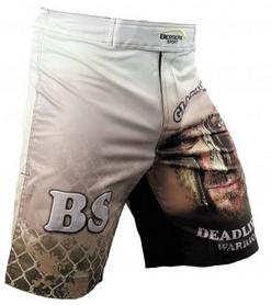 Фото 2 к товару Шорты для MMA Berserk Gladiator white