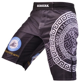 Фото 1 к товару Шорты для MMA Berserk Pankration Approwed WPC black