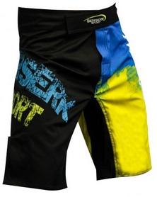Фото 3 к товару Шорты для MMA Berserk Ukraine Fighter black