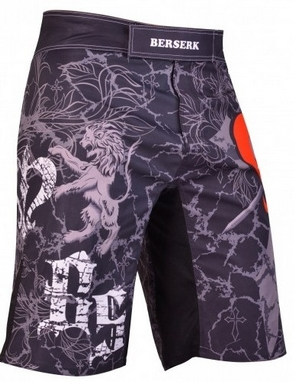 Шорты для MMA Berserk Warrior Spirit black