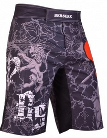 Шорты для MMA Berserk Warrior Spirit black