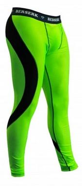 Штаны компрессионные с ракушкой Berserk Hyper Neon green