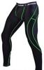Штаны компрессионные с ракушкой Berserk Legacy green neon black - фото 1