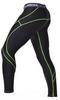Штаны компрессионные с ракушкой Berserk Legacy green neon black - фото 3