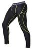 Штаны компрессионные с ракушкой Berserk Legacy yellow neon black - фото 2