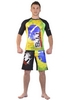 Рашгард Berserk Premier BJJ green/yellow - фото 5