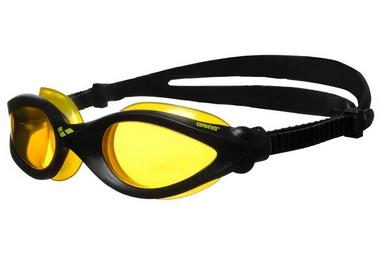 Очки для плавания Arena Imax Pro черно-желтые