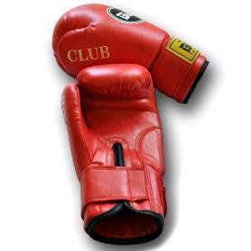 Фото 2 к товару Перчатки боксерские PVC World Sport club красные