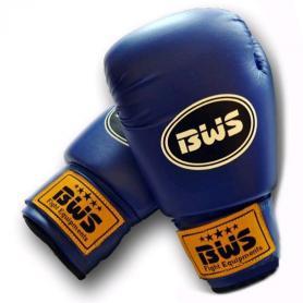 Перчатки боксерские PVC World Sport club синие
