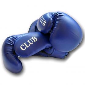 Фото 3 к товару Перчатки боксерские PVC World Sport club синие