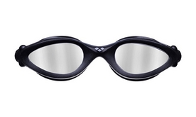 Фото 2 к товару Очки для плавания Arena Imax Pro Mirror черные