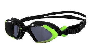 Очки для плавания Arena Viper черно-салатовые