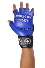 Фото 2 к товару Перчатки Berserk Sport Full for Pankration Approwed WPC 7 oz blue