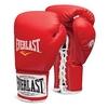Перчатки боксерские (профессиональные) Everlast 1910 Pro Fight красные - фото 1