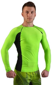 Фото 2 к товару Рашгард для MMA Berserk Long Sleeve Hyper Neon green